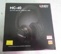 Lindy NC-40 Active Noise Cancelling Headphones