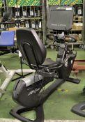 Life Fitness recumbent exercise bike - 95RS