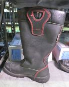 Crosstech YDS - used fire fighter boots - size 11