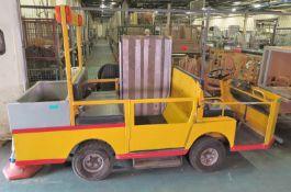 Bradshaw Electric FB2, Multi use electric vehicle, 2003 model, Side loading ramp, Tow bar