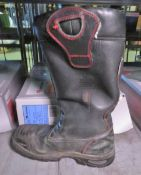 Crosstech YDS - used fire fighter boots - size 10
