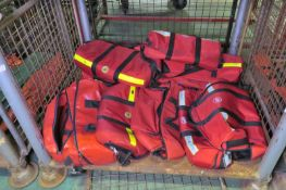 11x Medical rescue bags