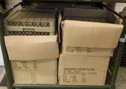 49 compartment rack 2 extenders - 6 per box - 6 boxes