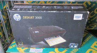HP Deskjet 3000 Inkjet Printer