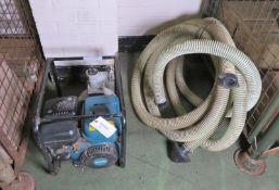 Makita EW220R Petrol Water Pump With Hose