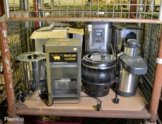 Various Hot Water Drink Dispensers, Soup Kettle, Grills, Serious Pig Snacking Oven Roast C