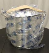 Pardini large cooking stock pots - 700mm deep x 40cm - bent lid