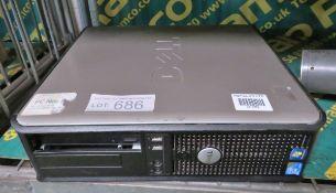 Dell PC No Hard Drive