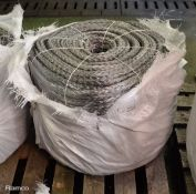 Marlow HMPE Rope 22mm x 220M - Grey