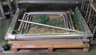 Aluminum Water Polo Nets Set
