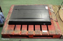 8x Vehicle Pan Drain L 900mm x W 600mm x H 60mm