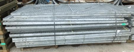 19x 8' x 4' Ex-MOD Ammo cage sections