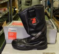 Tuffking - used fire fighter boots - size 10