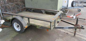 Pequea Single Axle Trailer - 8ft x 4ft - Model 408 - VIN - 4JAUS081-3-X900056 - Empty weig