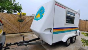 Towavan Box Trailer for sale 15ft Length x 7ft 5in Width Trailer Box is 10ft 8in (plus nose)