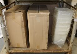 18L food storage containers x48