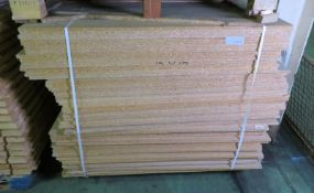 Wooden Racking Chipboard L 1220mm x W 1220mm x H 15mm - 64 sheets