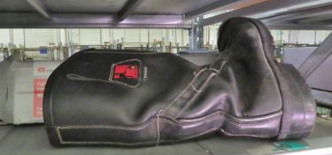 Tuffking - used fire fighter boots - size 12
