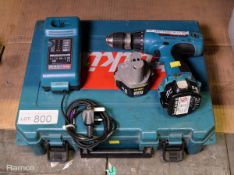 Makita 6317 12v Cordless Drill, Charger, Battery with Case