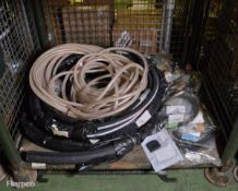 Various Rubber And Plastic Hoses