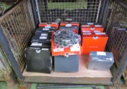 Vehicle parts - Don, Drivemaster, Mintex, Eicher brake discs - see picture for itinerary f