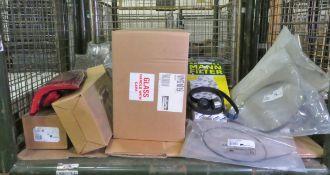 Vehicle parts - brake cables, RH mirror assemblies, rear lamps, filter service kits, filte