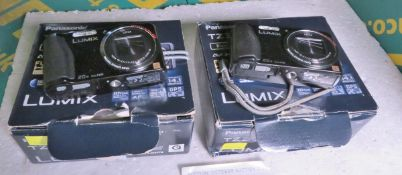 2x Panasonic TZ30 Digital Cameras with accessories