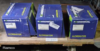 3x Fohrenbuhl alternators - please pictures for models & types