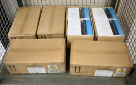 Centre high performance shower curtains - 20 per box - 6 boxes