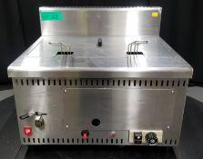 Parry Alpha LPG Gas Fryer - Model AGFP Serial No.000011322 - L520 x W460 x H440mm - PLEASE