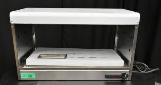 Parry Heated Pie Cabinet - Model CPC - Serial No.130100978 - L750 x W350 x H450mm - PLEASE