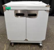 Parry Mobile Hot Cupboard - Model 1888 Serial No.170040775 - L780 x W620 x H930mm - PLEAS