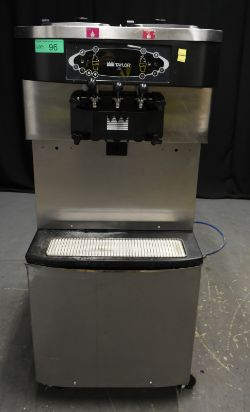 Taylor Crown Ice Cream Machine - Model C713-58 Serial No. C71358RW00R - PLEASE SEE PICTURE