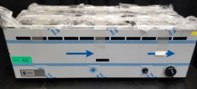 Parry 6x Pot Gas Bain Marie - Model BMF6CG - Serial No.15301000244A - L830 x W350 x H290mm