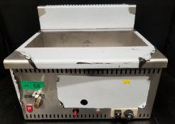 Parry Alpha LPG Gas Fryer - Model AGFP - Serial No.00001197 - L520 x W460 x H440mm - PLEAS