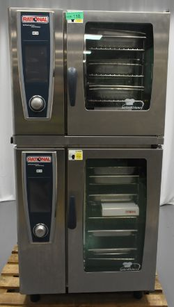 Rational Double Self Cooking Center/ Combination Oven - Model SCC WE 61 & SCC WE 101, Seri