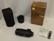 Nikon Nikkor Lens - AF-S Nikkor 80-400mm f/4.5-5.6G ED VR with Nikon HB-65 Lens Hood & CL-M2 case