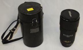 Nikon ED AF Nikkor 180mm 1:2.8 Lens with HOYA 72mm UV(O) Filter and Nikon CL-38 Case