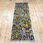 A 1920's tapestry banner, in the style of C.F.A. Voysey