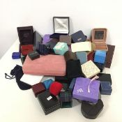 A large collection of jewellery boxes, mostly modern, some from the Middle East (a lot)