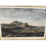 After Paul Sandby, West View of the City of Edinburgh, published according to an Act of