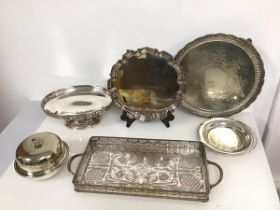 A collection of Epns including a presentation footed salver inscribed Kericho Open Foursomes, 1975
