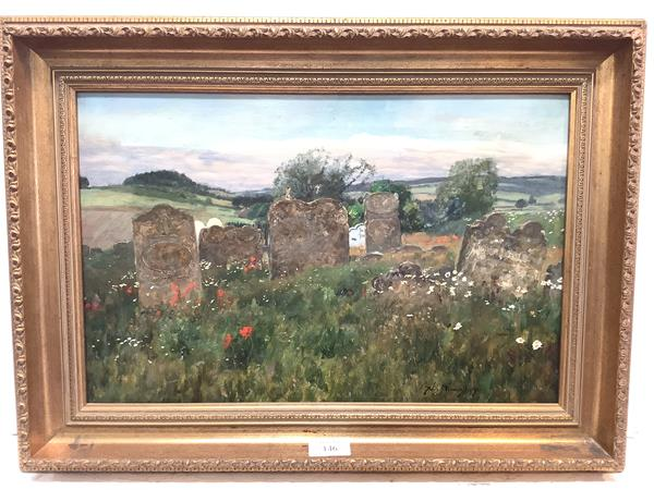 """Sir David Murray R.A. (Scottish, 1849-1933), """"Untrodden Ground"""", signed lower right and dated (18)"""