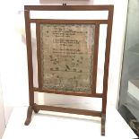An early 19th century memorial sampler for Princess Charlotte of Wales (1796-1817), in coloured
