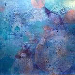 """•Nicola Broadfoot (Scottish, Contemporary), """"5MA"""", mixed media on board, signed and titled verso."""
