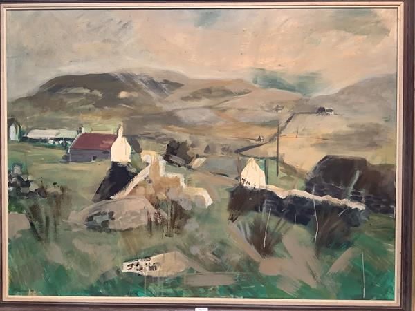 """Albert L. Robson (Scottish, 20th Century), """"Mellon Udrigle"""" (Ross-shire), signed lower left and"""