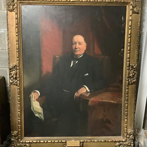 Frank O. Salisbury R.I., R.O..I, R.P. (British, 1874-1962), Portrait of Sir Frederick Henderson K.