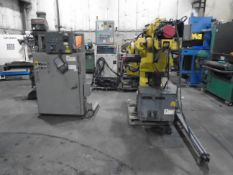 Fanuc S420iF 6 Axis Robot 140 KG Payload RJ2 Controller With Tech Pendent