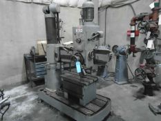 Willis – Bergo / Bergonzi FS1000 Radial Drill With Box Table