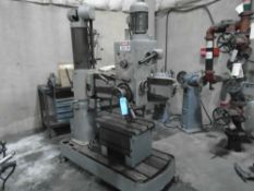 "Willis – Bergo / Bergonzi FS1000 Radial Drill With Box Table4' Arm8"" Dia. ColumCoolantPower"